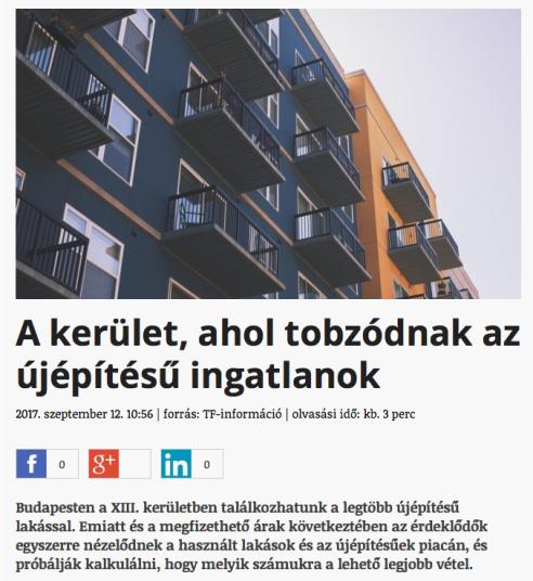 újépítésű lakás ingatlanpiac ingatlan Budapest
